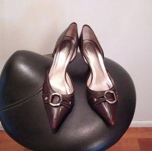 Dark Brown Coach Women's Shoes